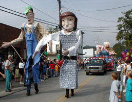 Giant Float Puppets